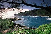 Lapahoehoe, Hamakua Coast, Island of Hawaii<br />