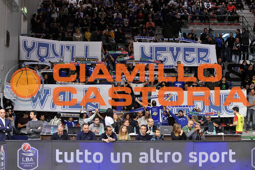 Ultras Banco di Sardegna Dinamo Sassari<br /> Banco di Sardegna Dinamo Sassari - Vanoli Cremona<br /> LegaBasket Serie A LBA Poste Mobile 2016/2017<br /> Sassari 26/11/2016<br /> Foto Ciamillo-Castoria