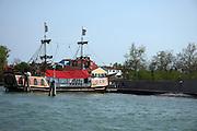 Italy, Venice Gondola in a canal