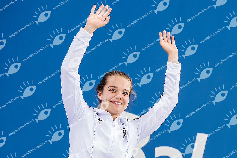 OETTINGHAUS Saskia GER<br /> 3M_Springboard Women Final Diving<br /> 1st European Olympic Games <br /> Baku Azerbaijan 12-28/08/2015<br /> Photo Andrea Masini/Deepbluemedia/Insidefoto