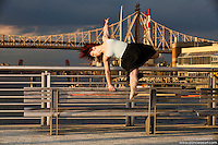 New York City Dance Photography- Dance As Art Gantry State Park with dancer Katie Stehura