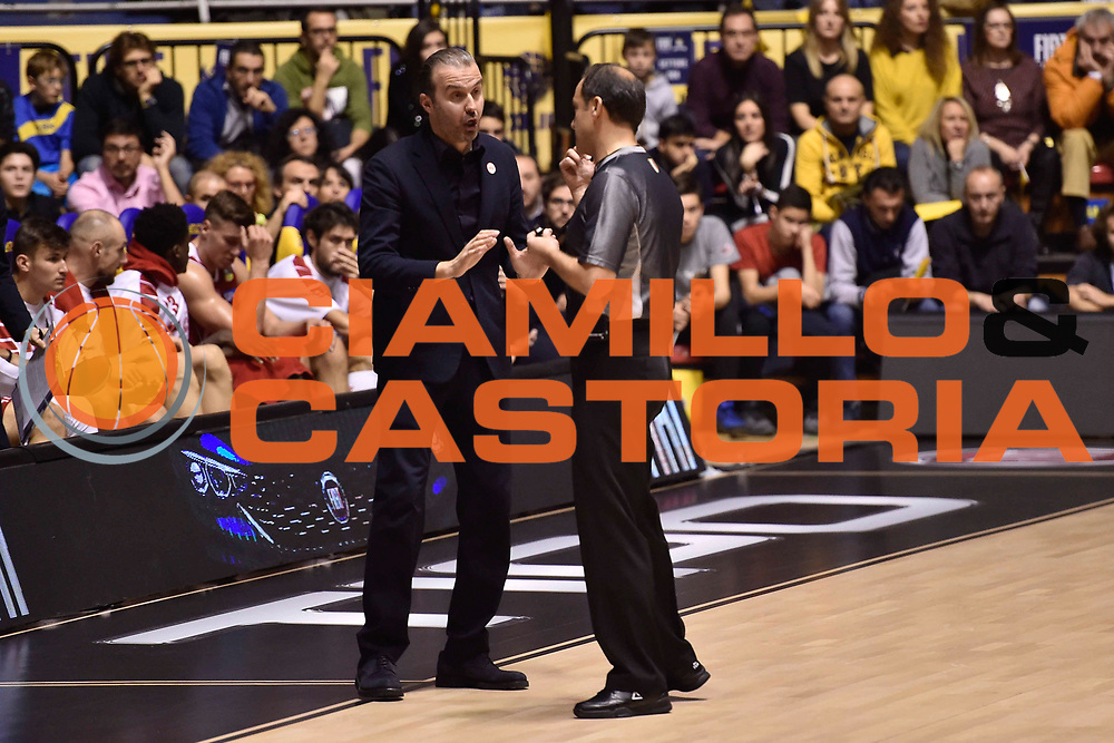Pianigiani Simone<br /> FIAT Torino - EA7 Emporio Armani Milano<br /> Lega Basket Serie A 2017-2018<br /> Torino 10/12/2017<br /> Foto M.Matta/Ciamillo & Castoria