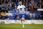 James Norwood of Tranmere Rovers   during the EFL Sky Bet League 2 play off first leg match between Tranmere Rovers and Forest Green Rovers at Prenton Park, Birkenhead, England on 10 May 2019.