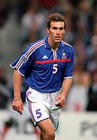 Laurent Blanc (France). France v England, Stade de France, 2/9/2000. Credit: Colorsport.