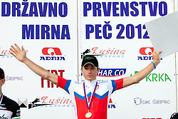 Luka Pibernik of KK Radenska after Slovenian National Championship Mirna Pec 2012, on June 24, 2012, in Mirna Pec, Slovenia. (Photo by Urban Urbanc / Sportida.com)