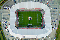 ALKMAAR - 22-10-15, Europa League, AZ - FC Augsburg, AFAS Stadion,overzicht.
