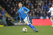 Andy Cannon during the The FA Cup match between Rochdale and Tottenham Hotspur at Spotland, Rochdale, England on 18 February 2018. Picture by Daniel Youngs.
