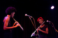 (9-30-11) Flutronix performs at the Morseland on Chicago's North Side.