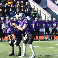 University of St. Thomas defeated Coe College 55-6 in NCAA Second Round action at O'Shaunessey Stadium in St. Paul, Minnesota, on November 26, 2016.