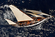 "France Saint - Tropez October 2013, Classic yachts racing at the Voiles de Saint - Tropez<br /> <br /> C,CAG,VERONIQUE,""24,86"",YAWL AURIQUE/1907,A.R LUKE"
