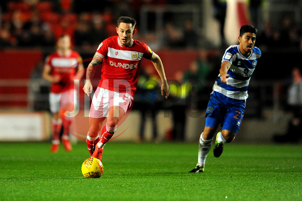 Josh Brownhill of Bristol City in action- Mandatory by-line: Nizaam Jones/JMP - 12/02/2019 - FOOTBALL - Ashton Gate Stadium - Bristol, England - Bristol City v Queens Park Rangers - Sky Bet Championship