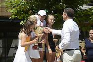 Mistrzostwa Polski Skrzatow w tenisie ziemnym w klubie Deski w Warszawie.<br /> <br /> Poland, Warsaw, July 07, 2013<br /> <br /> For editorial use only. Any commercial or promotional use requires permission.<br /> <br /> Photo by © Adam Nocon / Mediasport