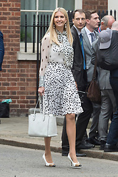 © Licensed to London News Pictures. 04/06/2019. London, UK. Ivanka Trump arrives at 10 Downing Street during a state visit. Photo credit: Ray Tang/LNP