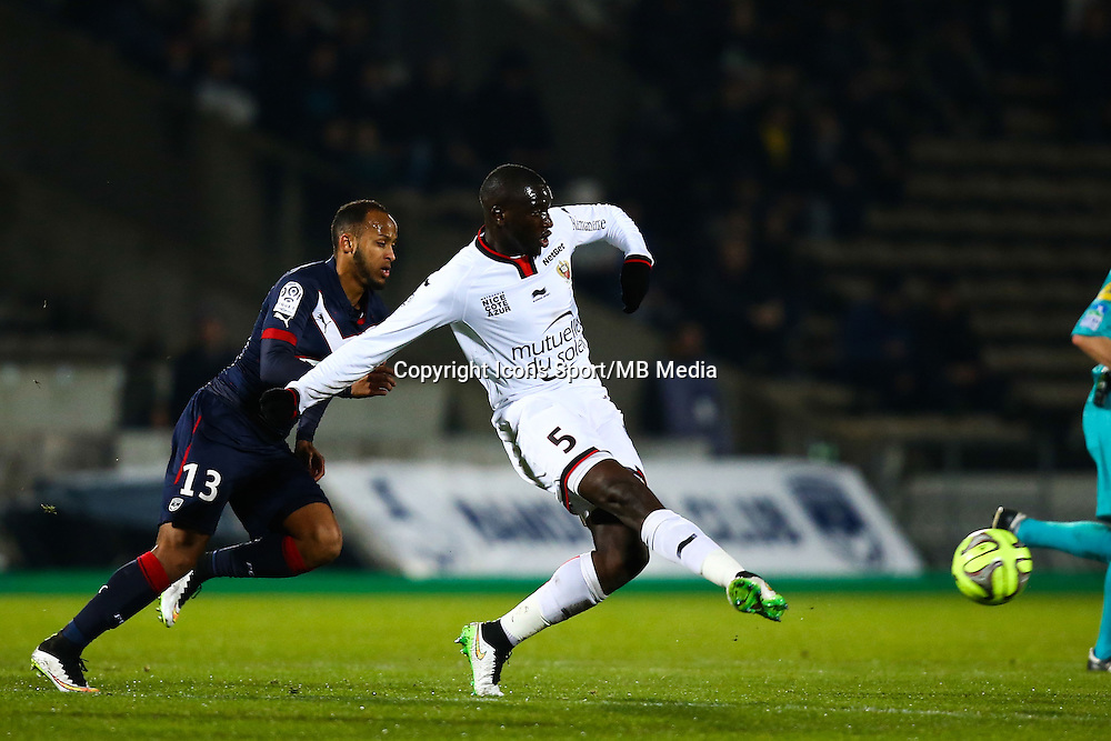 Kevin Gomis - 16.01.2015 - Bordeaux / Nice - 21e journee Ligue 1<br />