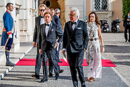 italian designer Valentino Garavani and Bruce Hoeksema  21- 6-2017 ROME valentino  - Koning Willem-Alexander en Koningin Maxima Contraprestatie  Prins Jaime de Bourbon de Parme en prinses Viktoria de Bourbon de Parme en prinses Christina <br /> In de Palazzo Colonna  president Mattarella en Laura Mattarella.   . 4 daags staatsbezoek van Koning Willem-Alexander en koningin Maxima aan de Republiek Itali&euml; en de Heilige Stoel in Vaticaanstad . COPYRIGHT ROBIN UTRECHT <br /> <br /> 21- 6-2017 ROME - King Willem-Alexander and Queen Maxima Contra Performance<br /> In the Palazzo Colonna President Mattarella and Laura Mattarella. . 4-day state visit of King Willem-Alexander and Queen Maxima to the Republic of Italy and the Holy See in Vatican City. COPYRIGHT ROBIN UTRECHT