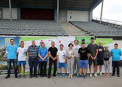 during Media day of the Sandi Novak, paralympic runner of Slovenia, on June 16, 2016 in Stadium Triglav, Kranj Slovenia. Photo by Matic Klansek Velej / Sportida
