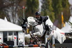 Laseur Megan, NED, Blue Bayou<br /> Young Riders<br /> Nederlands Kampioenschap Jumping - Mierlo 2017<br /> © Hippo Foto - Dirk Caremans<br /> 20/04/2017