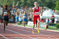 MATZINGER Gunther, ITA, 400m, T46, 2013 IPC Athletics World Championships, Lyon, France