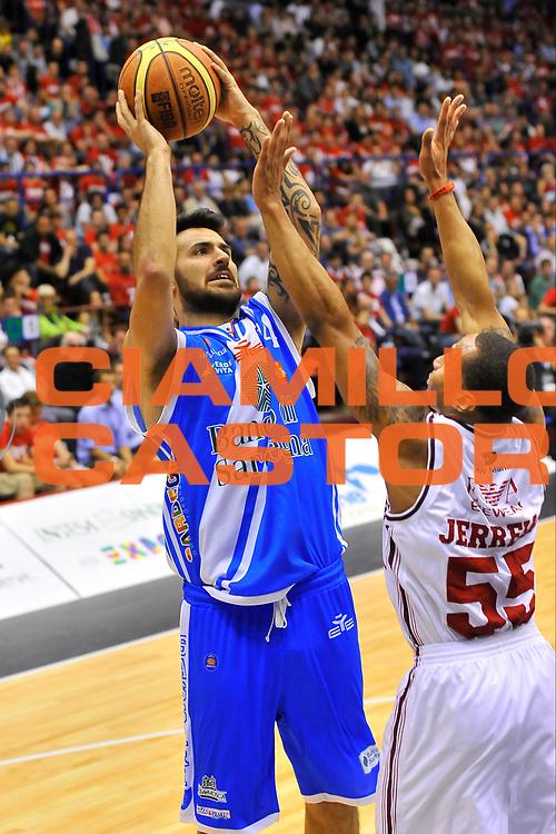 DESCRIZIONE : Campionato 2013/14 Semifinale GARA 2 Olimpia EA7 Emporio Armani Milano - Dinamo Banco di Sardegna Sassari<br /> GIOCATORE : Brian Sacchetti<br /> CATEGORIA : Tiro<br /> SQUADRA : Dinamo Banco di Sardegna Sassari<br /> EVENTO : LegaBasket Serie A Beko Playoff 2013/2014<br /> GARA : Olimpia EA7 Emporio Armani Milano - Dinamo Banco di Sardegna Sassari<br /> DATA : 01/06/2014<br /> SPORT : Pallacanestro <br /> AUTORE : Agenzia Ciamillo-Castoria / Luigi Canu<br /> Galleria : LegaBasket Serie A Beko Playoff 2013/2014<br /> Fotonotizia : DESCRIZIONE : Campionato 2013/14 Semifinale GARA 2 Olimpia EA7 Emporio Armani Milano - Dinamo Banco di Sardegna Sassari<br /> Predefinita :