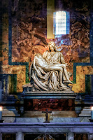 """Pieta by Michelangelo - Basilica of St. Peter in the Vatican""..."