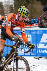 Niels Wubben (NED), Men Elite, Cyclo-cross World Championship Tabor, Czech Republic, 1 February 2015, Photo by Pim Nijland / PelotonPhotos.com