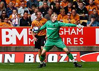 Football Barclays Premiership Wayne Hennessey of Wolverhampton Wanderers Wolverhampton Wanderers v West Ham United  at  Molineux Stadium 15/08/2009 Credit: Colorsport / Kieran Galvin