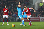 Bristol City's Luke Ayling on the ball during the Sky Bet Championship match between Bristol City and Wolverhampton Wanderers at Ashton Gate, Bristol, England on 3 November 2015. Photo by Shane Healey.