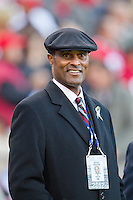 11 November 2012: Ray Anderson of the NFL league office watches the San Francisco 49ers and the St. Louis Rams play to a 24-24 tie in an NFL football game at Candlestick Park in San Francisco, CA.