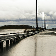 10/30/12 - Smyrna, DE - Hurricane Sandy - The causeway.into woodland beach sits under water Tuesday, Oct. 30, 2012, in Smyrna DE.  ..SAQUAN STIMPSON/Special to The News Journal