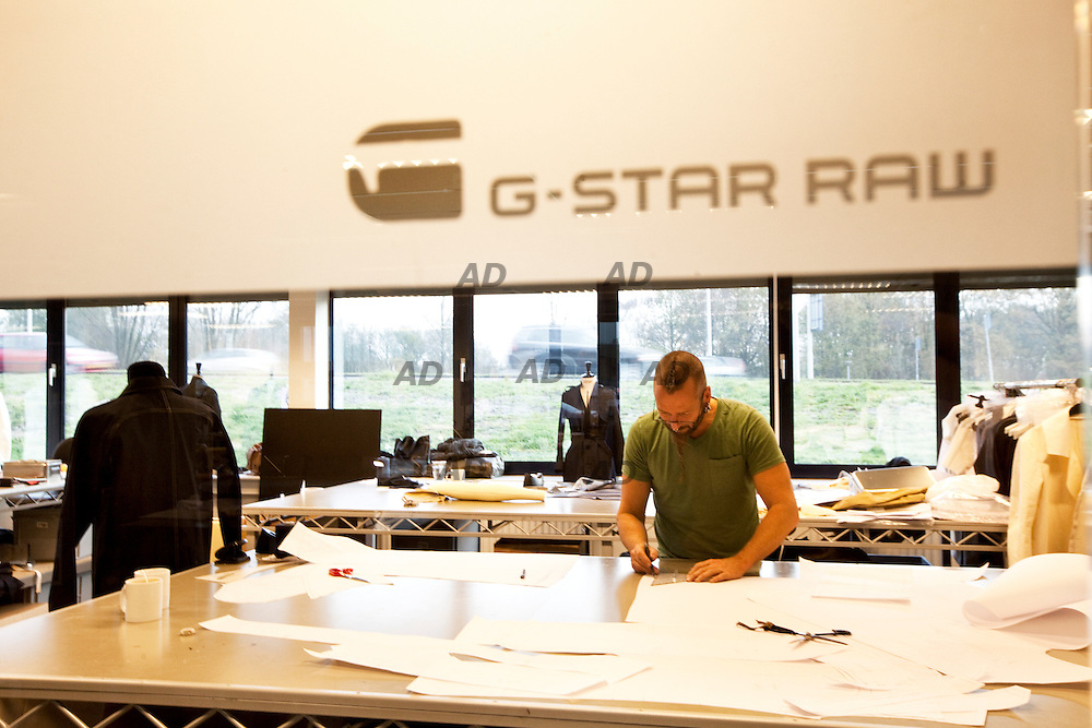 The headquarters of G-Star. The laboratory prototypes and models.