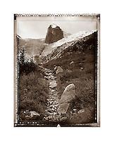 Trail to Conrad Cain Hut Bugaboos British Columbia Canada