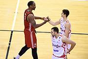 Knox Justin<br /> Grissin Bon Pallacanestro Reggio Emilia - Alma Trieste<br /> Lega Basket Serie A 2018/2019<br /> Reggio Emilia, 23/12/2018<br /> Foto A.Giberti / Ciamillo - Castoria
