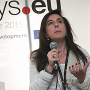 04 June 2015 - Belgium - Brussels - European Development Days - EDD - Growth -  Business and human rights - Two innovative tools for compliance and reporting - Giulia Di Tommaso , Legal , Corporate Affairs and Sustainability Adviser © European Union