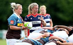 Sian Moore of Bristol Ladies watches over the scrum - Mandatory by-line: Robbie Stephenson/JMP - 18/09/2016 - RUGBY - Cleve RFC - Bristol, England - Bristol Ladies Rugby v Aylesford Bulls Ladies - RFU Women's Premiership