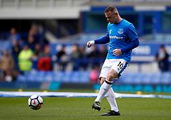 Wayne Rooney of Everton warms up - Mandatory by-line: Matt McNulty/JMP - 12/08/2017 - FOOTBALL - Goodison Park - Liverpool, England - Everton v Stoke City - Premier League