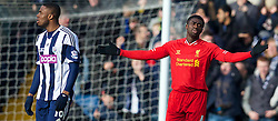 02.02.2014, The Hawthorns, West Bromwich, ENG, Premier League, West Bromwich Albion vs FC Liverpool, 24. Runde, im Bild Liverpool's Kolo Toure looks dejected as West Bromwich Albion score the equalising goal // during the English Premier League 24th round match between West Bromwich Albion and Liverpool FC at the The Hawthorns in West Bromwich, Great Britain on 2014/02/02. EXPA Pictures © 2014, PhotoCredit: EXPA/ Propagandaphoto/ Alan Seymour<br /> <br /> *****ATTENTION - OUT of ENG, GBR*****
