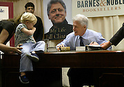 "Thousands of people waited hours in line outside the Barnes & Noble bookstore on 5th Ave. and 49th Street in Manhattan for the chance to have former President Bill Clinton sign his new book ""My Life""."