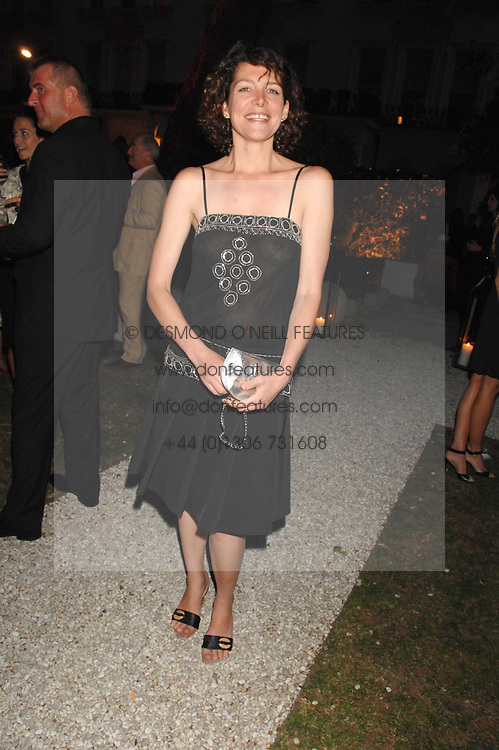 THOMASINA MIERS at a party to celebrate Le Touessrok a luxury resort in Mauritius, held at The Hempel, 31-35 Craven Hill Gardens, London W2 on 12th June 2007.<br />