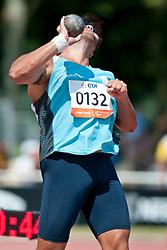 BALDASSARRI Sebastian, ARG, Shot Put, F11, 2013 IPC Athletics World Championships, Lyon, France
