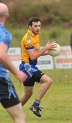Knockmore's Kevin McLoughlin.<br /> Pic Conor McKeown
