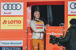 18.01.2020, Hochfirstschanze, Titisee Neustadt, GER, FIS Weltcup Ski Sprung, im Bild Karl Geiger (GER) // Karl Geiger of Germany during the FIS Ski Jumping World Cup at the Hochfirstschanze in Titisee Neustadt, Germany on 2020/01/18. EXPA Pictures © 2020, PhotoCredit: EXPA/ JFK