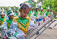 Scouts students  from Palawan isalnd preforming in musical show.  Palawan is the largest island in the Palawan Province, in the western Philippines. The capital, Puerto Princesa