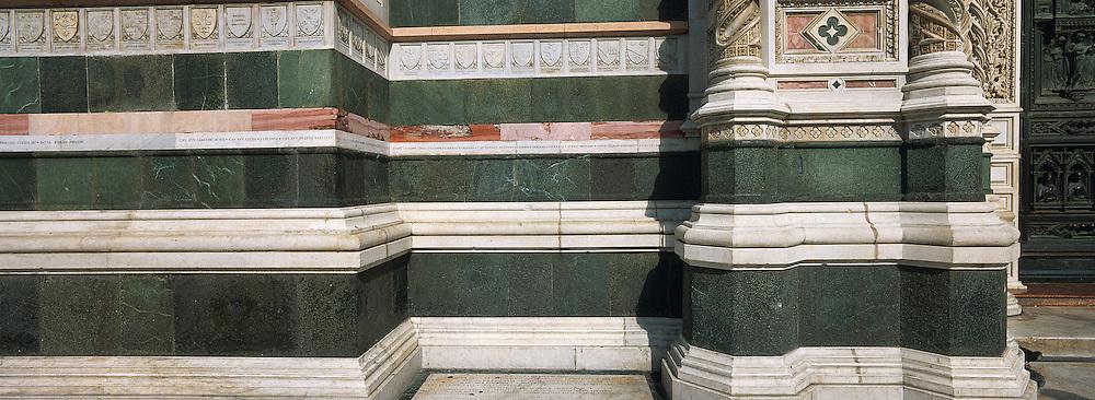 Italie, Toscane, Florence, detail du Dome Santa Maria del Fiore // Italy, Tuscany, Florence, Santa Maria del Fiore Duomo detail