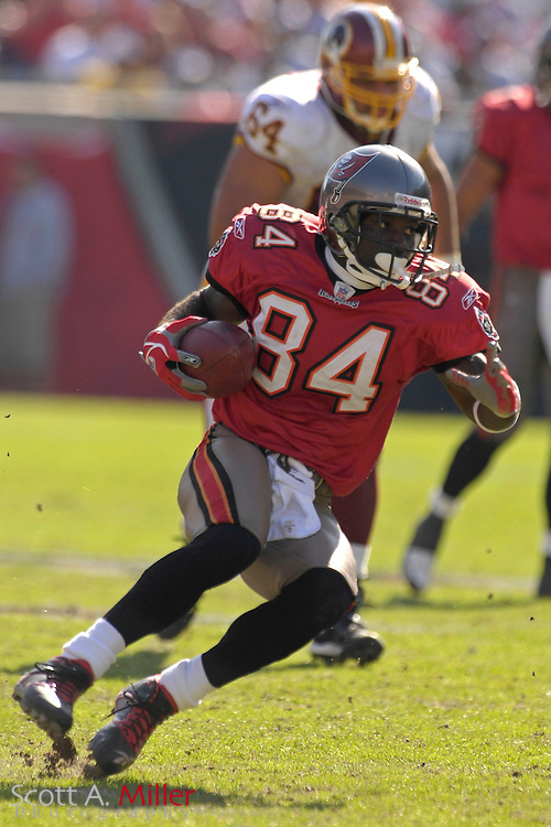 Nov. 19, 2006; Tampa, FL, USA;  Tampa Bay Buccaneers receiver (84) Joey Galloway in action against the Washington Redskins at Raymond James Stadium. ...©2006 Scott A. Miller