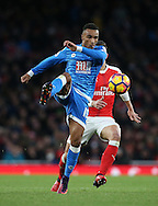 Bournemouth's Junior Stanislas in action during the Premier League match at the Emirates Stadium, London. Picture date October 26th, 2016 Pic David Klein/Sportimage