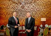 Koning Willem-Alexander ontvangt nieuwe voorzitter van de Eerste