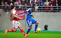 But Alexandre LACAZETTE - 26.04.2015 - Reims / Lyon - 34eme journee de Ligue 1<br />