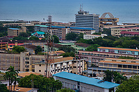 Cross-section of Downtown Accra