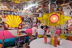 United States, Washington, Issaquah, restaurant interior