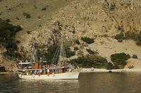 Coves on Krk Island, Croatia